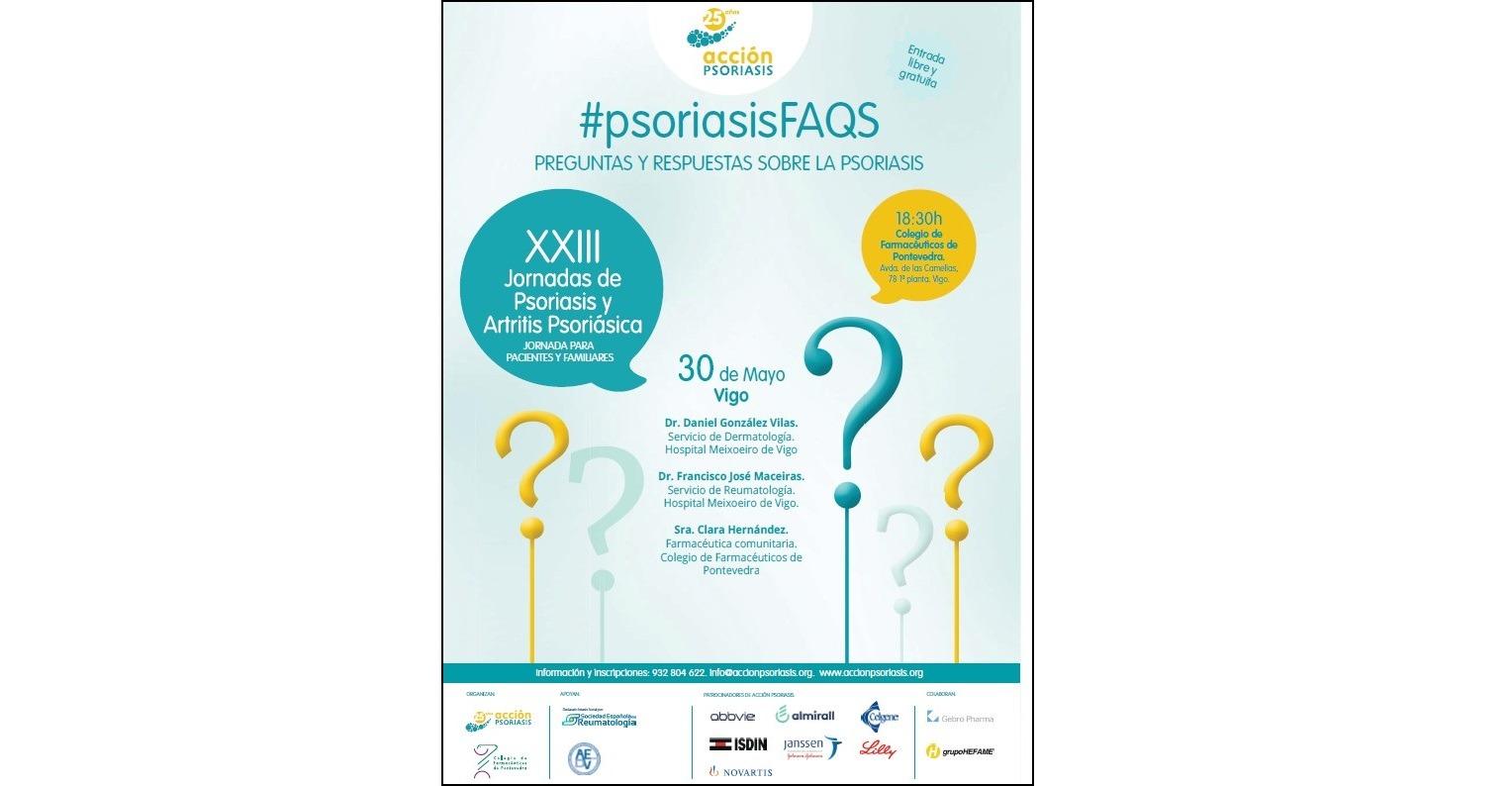 XXIII Jornadas de psoriasis y artritis psoriásica