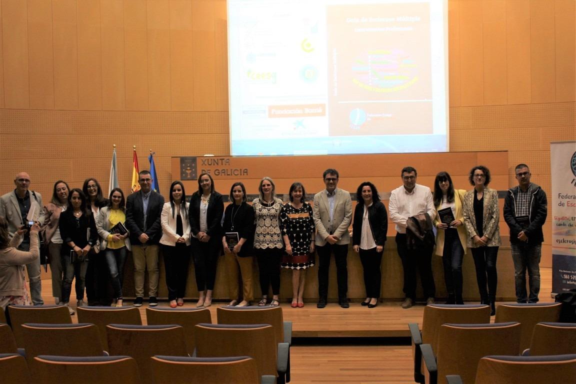 El colegio colabora con FEGADEM en la 1ª edición de la Guía de Esclerosis Múltiple