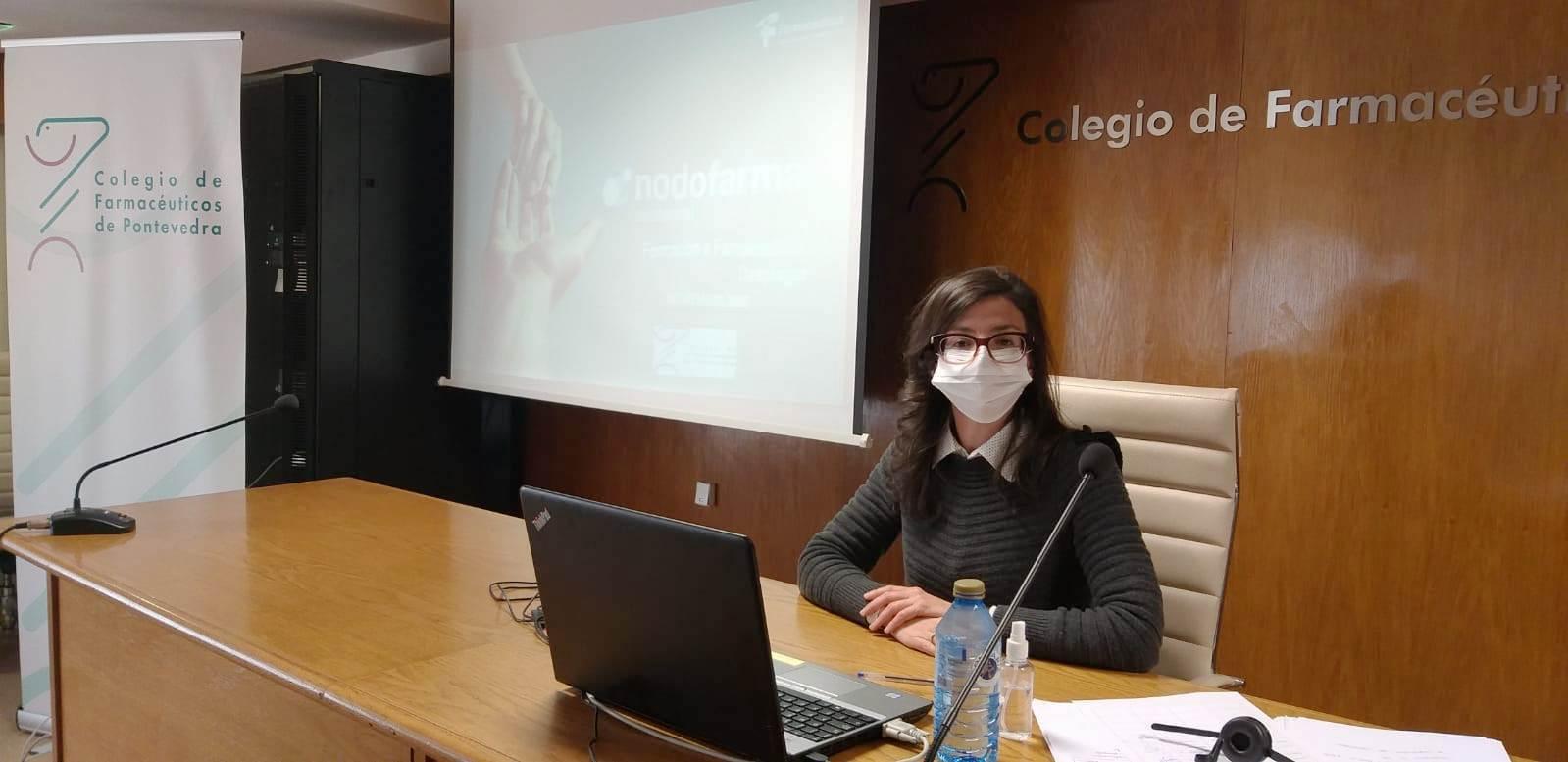 """Comienzo de las sesiones presenciales del curso """"Nodofarma Asistencial para Atención Farmacéutica en Dispensación e Indicación Farmacéutica"""""""