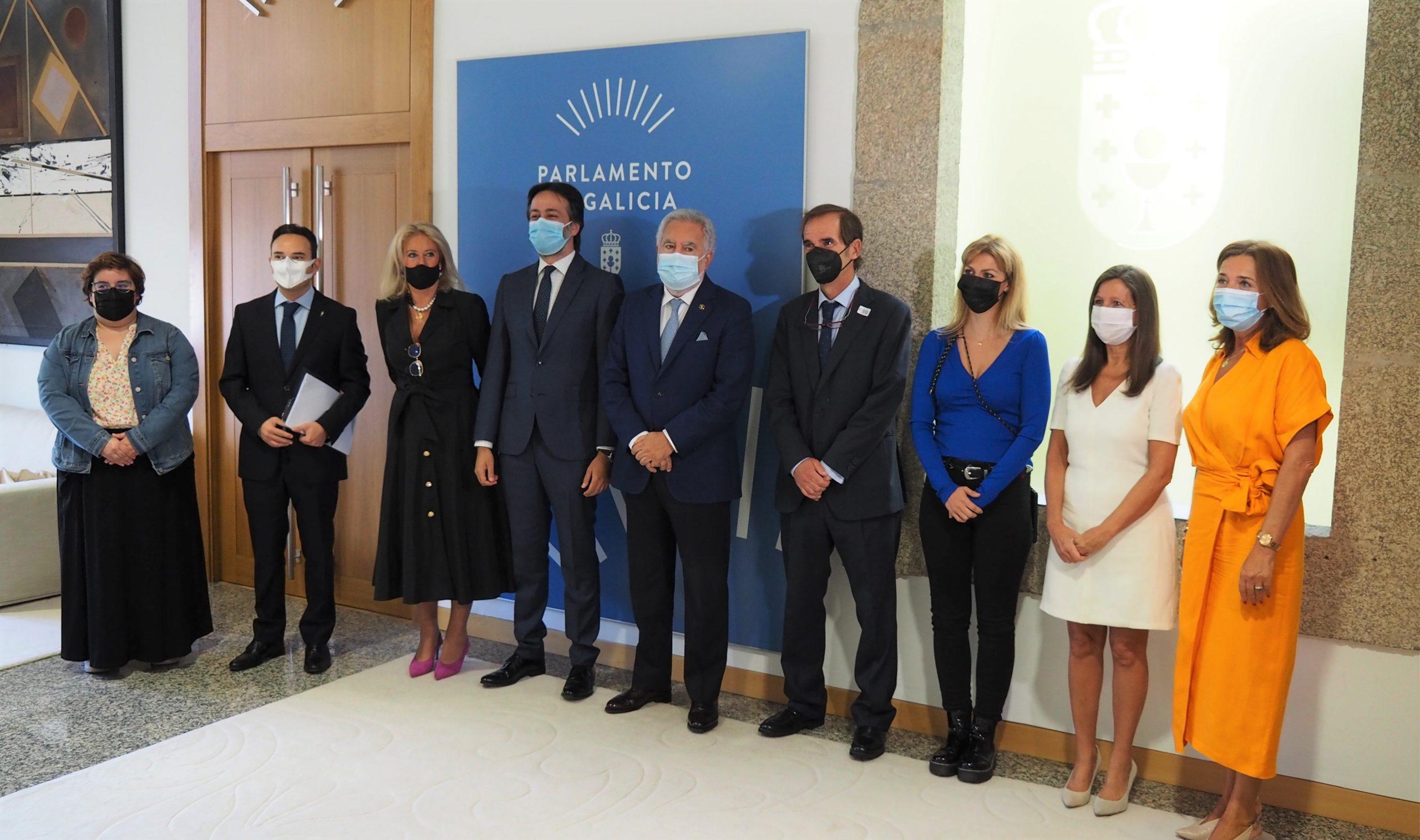 Acto institucional del Día Mundial del Farmacéutico en el Parlamento de Galicia